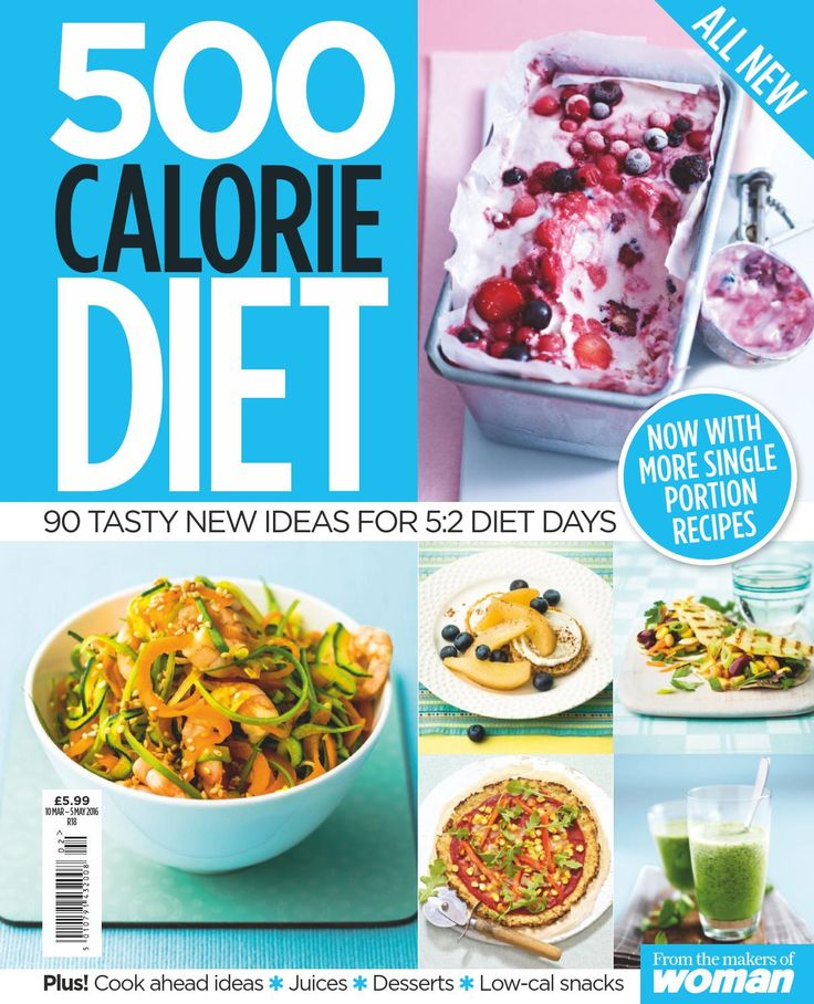 Woman special series 500 calorie diet 2 2016