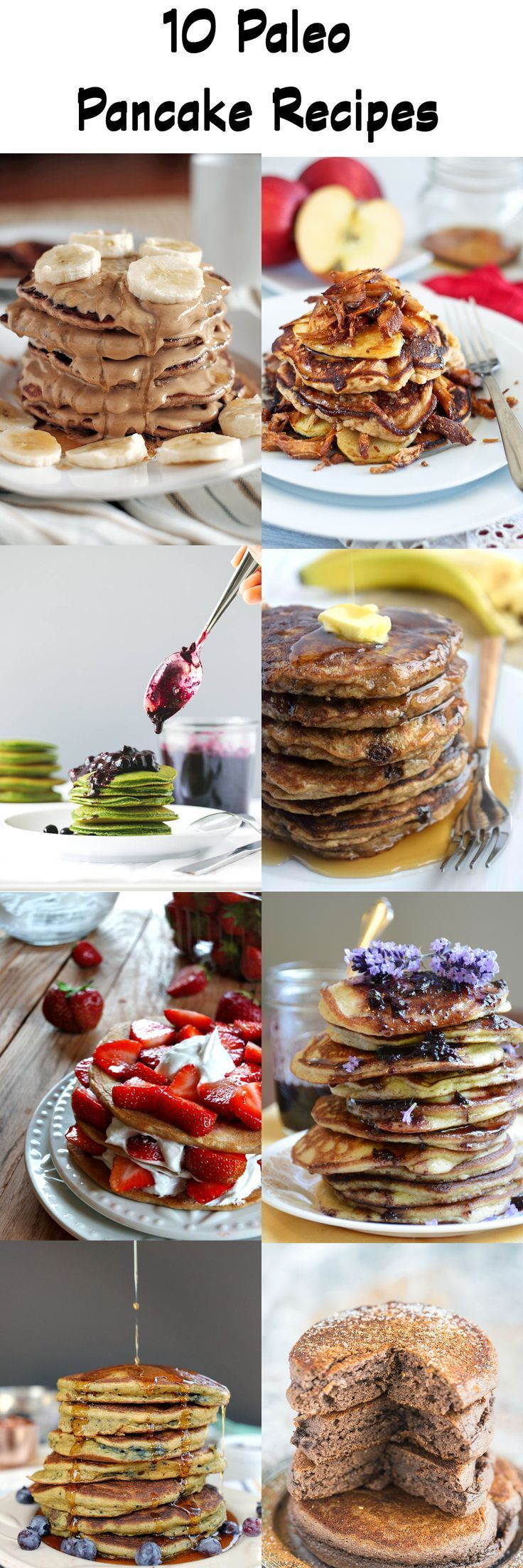 This Paleo pancake roundup features 10 drool-worthy pancakes from your favorite Paleo bloggers. Recipes are gluten free, Paleo and 100% delicious! | http://realsimplegood.com