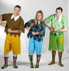 Wizard of Oz munchikin Costume Patterns | The Wizard of Oz costume rental