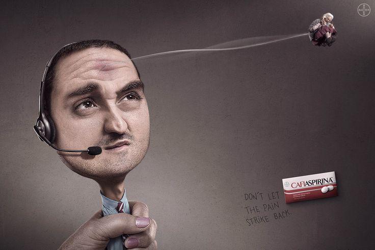 Don't let the pain strike back. - Bayer Cafiaspirina: Marketing