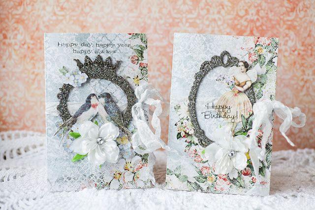 Secret Garden cards by Vera Shelemekh