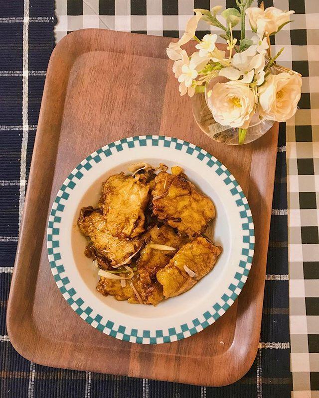 #中華 #中華料理 #肉 #自宅料理 #自宅飯 #昼ご飯 #鍋包肉 #DoubleCookedPorkSlices #锅包肉