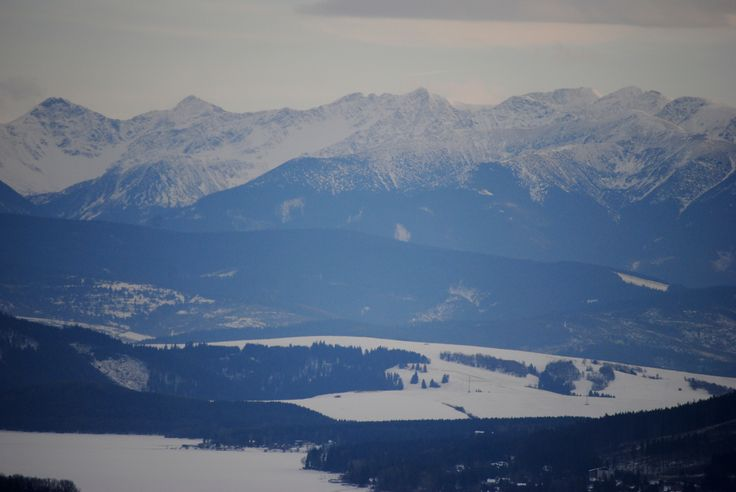 Orava - Klin - januar/2014 - Winter - nverending view - beautifuuul - Somewhere in Slovakia ♥