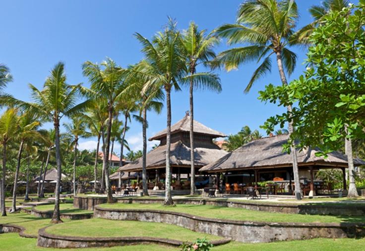 Pool Grill exterior   Pan Pacific Nirwana Bali Resort   Tanah Lot - Bali, Indonesia