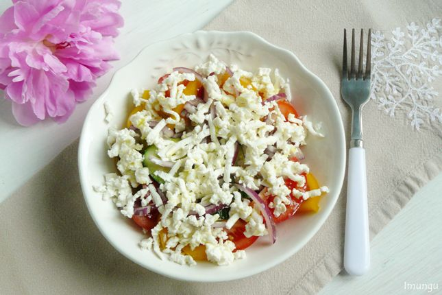 Балканская классика: Шопский салат