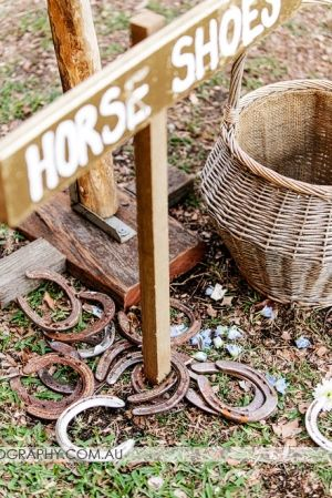 Horse Shoes Lawn Games | Lovebird Weddings
