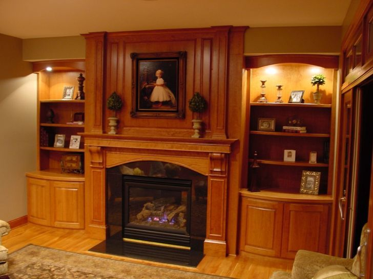 natural wood fireplace mantels google search