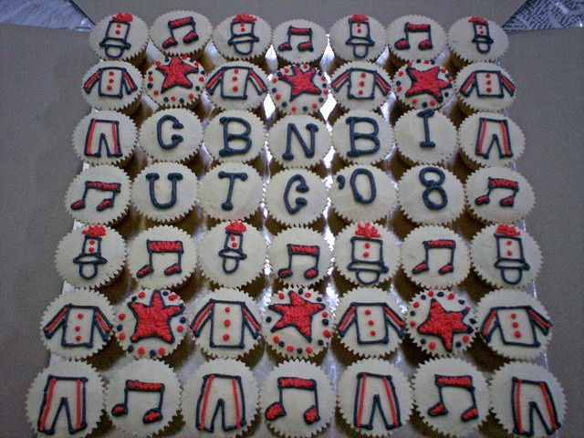 Marching Band cupcakes!