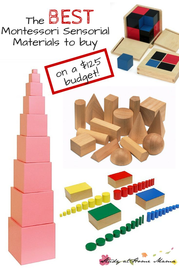 The BEST Montessori Sensorial Materials (when you can only spend $125) ⋆ Study at Home Mama
