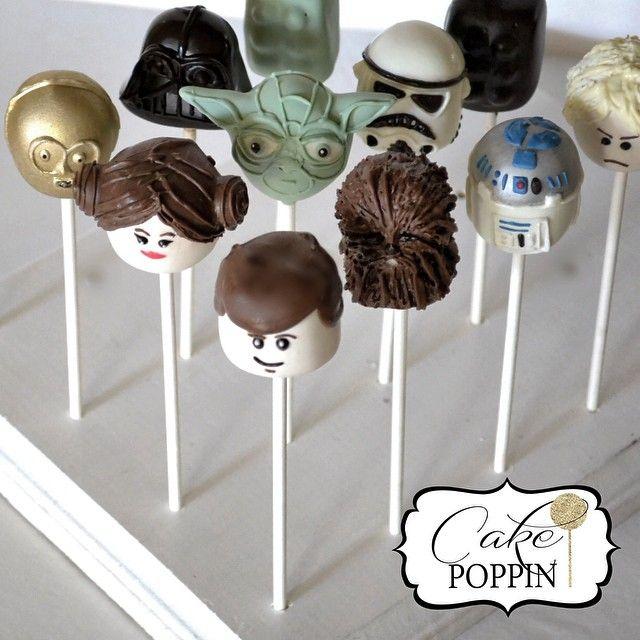 Amazing Star Wars Lego cake pops!