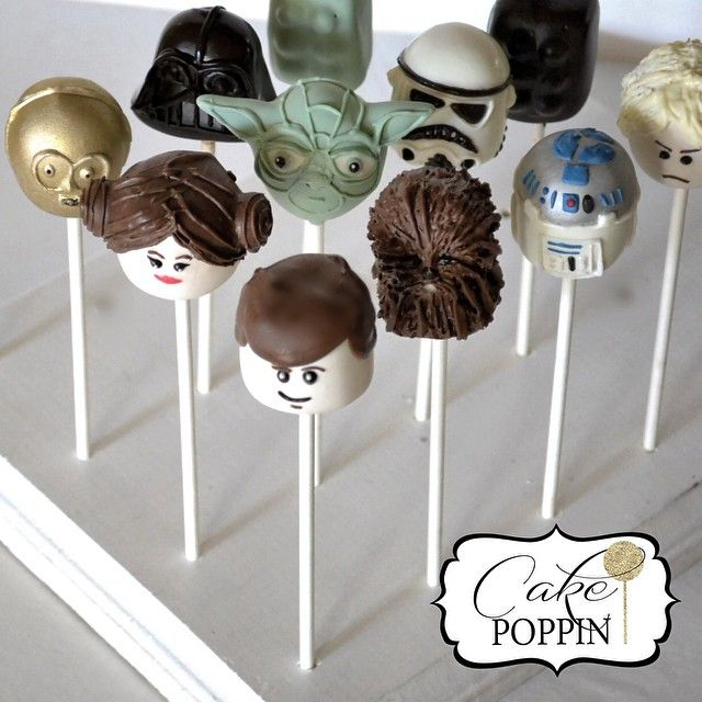 Amazing Star Wars Lego cake pops!