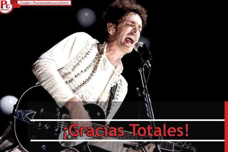 El jueves 4 de septiembre, falleció Gustavo Cerati; músico y cantautor argentino, líder de la banda rockera Soda Stéreo, luego de 4 años en estado de coma, se fue, para desde el cielo iluminarnos a quienes amamos su música.  [http://www.proclamadelcauca.com/2014/09/gracias-totales.html]