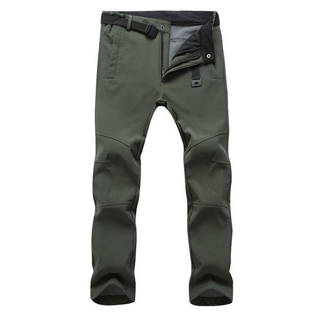 Best Buy $16.98, Buy Mountainskin New Men's Winter Softshell Fleece Pants Outdoor Waterproof Hiking Camping Trekking Skiing Male Sport Trousers MA152