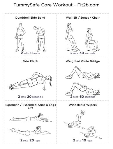 Really quick: burpees and situps are the WORST thing you can do if you have…
