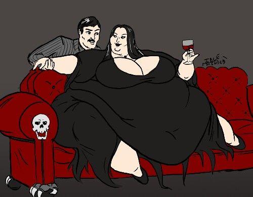 Morticia & Gomez (La famiglia Addams)