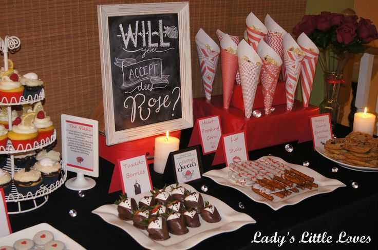 The Bachelor Viewing Party Ideas- www.ladyslittleloves.com