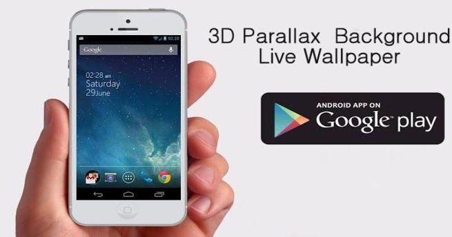 3D Parallax Background  The original multilayer parallax app! Unique and one of the kind live wallpaper you wont find anywhere else  Multi-Layered parallax backgrounds! Give your homescreen a real 3D depth with gyroscope controlled multi-layered parallax backgrounds  even better than effect featured on Iphone iOS 7. You can even use you own layers and share them with other users through shared dropbox folder accessible from within the app! We already have more than 15 additional themes…