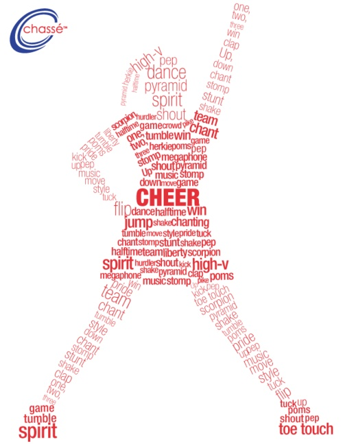 What a cheerleader is made of....