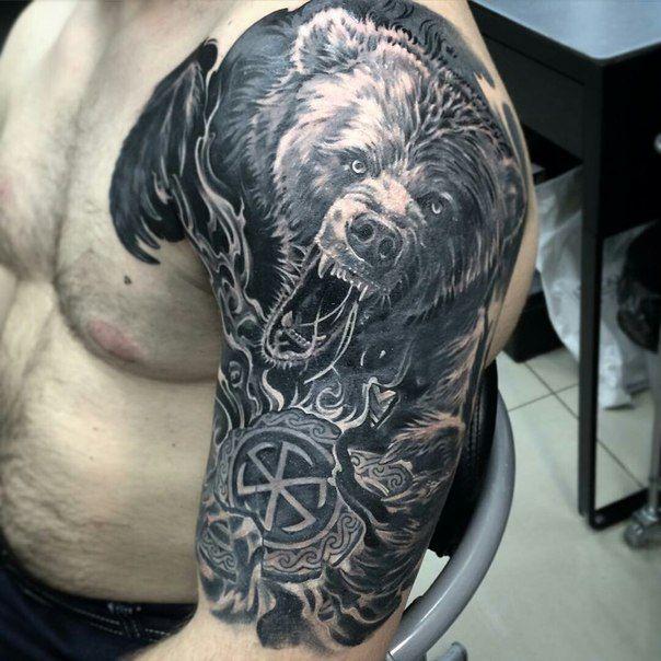 Славянские и скандинавские татуировки   эскизы