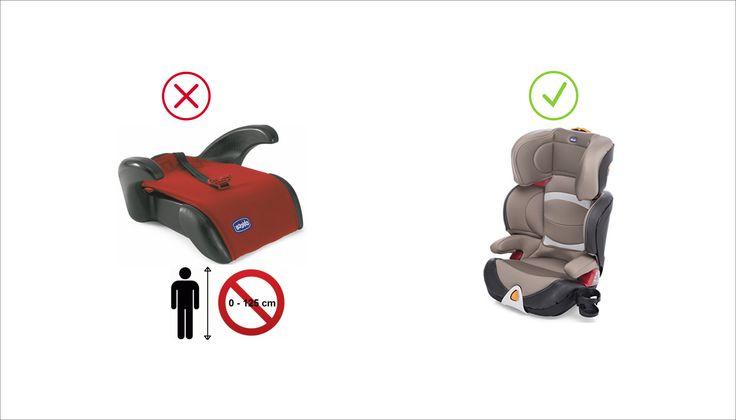 Cambia la normativa in materia di sistemi di ritenuta per il trasporto dei bambini in auto 2017