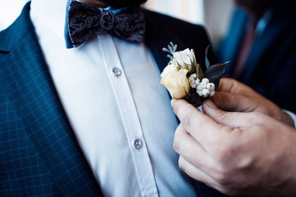 boutonniere for a groom  бутоньерка для жениха
