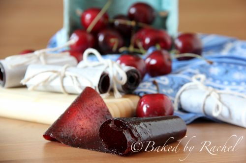 Cherry Fruit Leather - this sounds delicious.. and word to ya mother.. i want one of those cherry pitters
