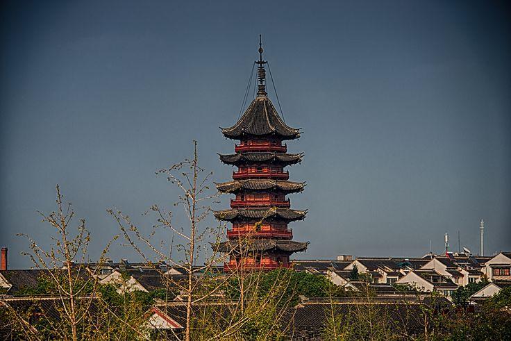 https://flic.kr/p/mvLZax | Ruiguang Pagoda, Panmen Scenic Area, Suzhou, China