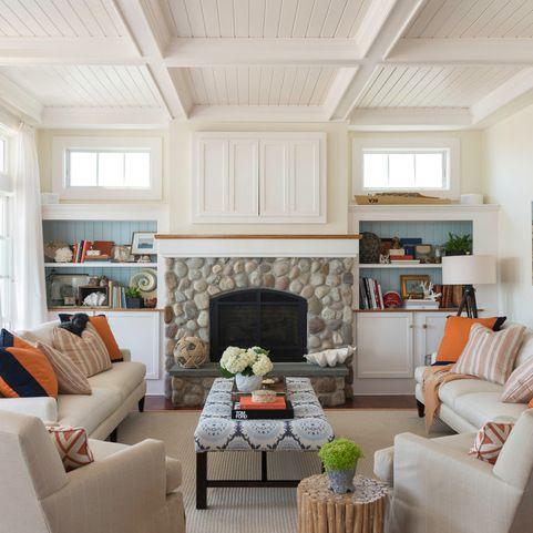 Daniel Island 4 - beach-style - Living Room - Charleston - Structures Building Company