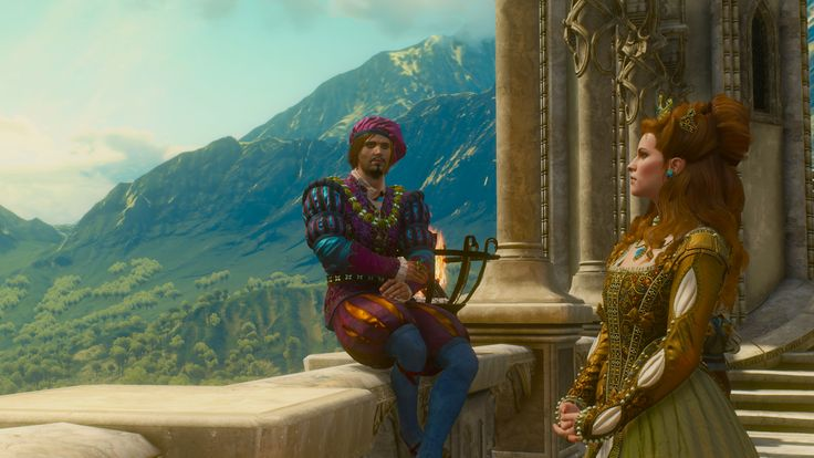 Little Weasel and Dandelion reunited #TheWitcher3 #PS4 #WILDHUNT #PS4share #games #gaming #TheWitcher #TheWitcher3WildHunt