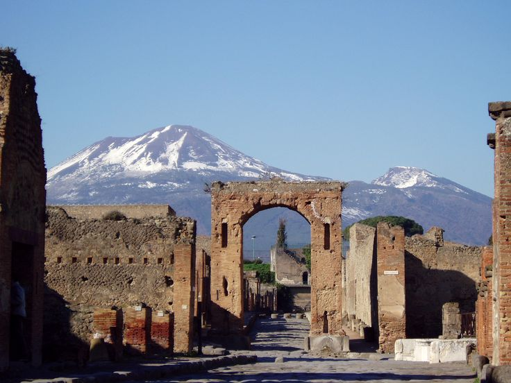 Pompeii, Italy - One of the best tours I've ever taken. Hope to bring the kids there one day.
