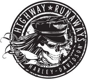 #HwyRunaways Get a Free Harley Davidson Sticker