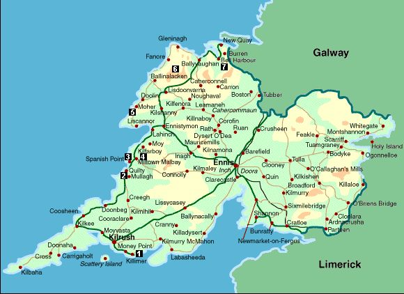 County Clare, parish of Kilconry, barony of Bunratty (between Ennis and Quin)~the ancestral homeland.
