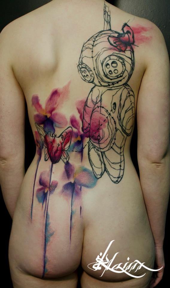 Klaim et Niko des tatoueurs résolument tourné vers l'artistique | Festival du tatouage de Chaudesaigues