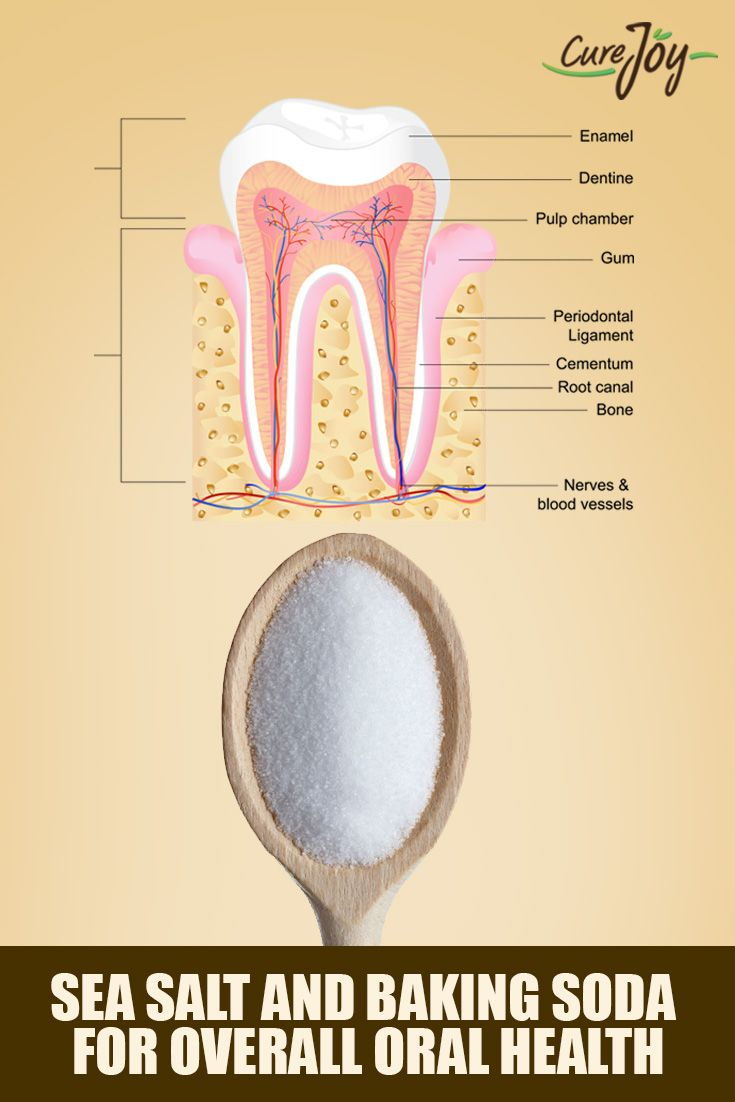 Sea Salt And Baking Soda For Overall Oral Health ==>