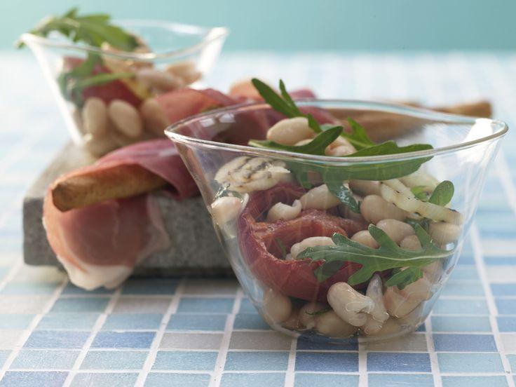 Leckere salate rucola