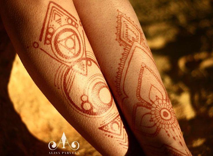 Geometrical Pattern @hennabyalisaparveen @hennatent @carli_bear_henna