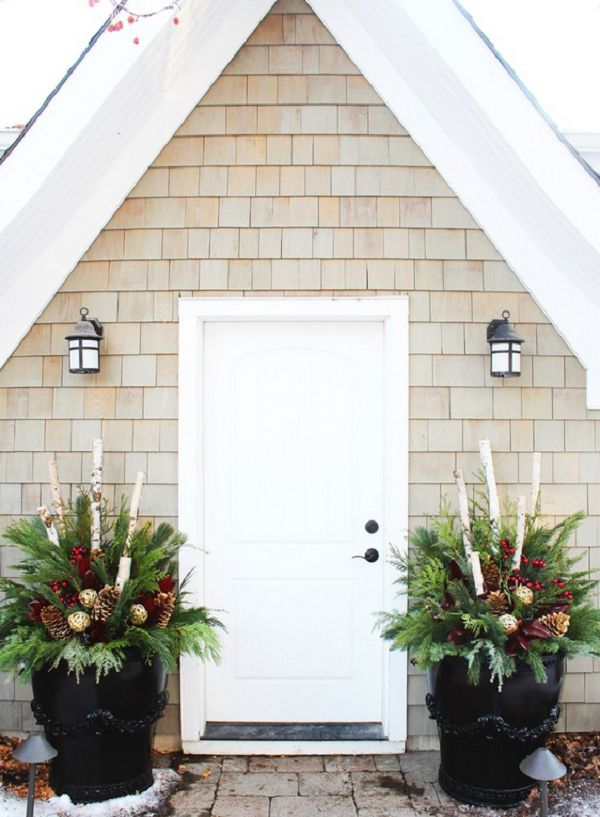 Awesome Outside Front Entry Decorating Ideas
