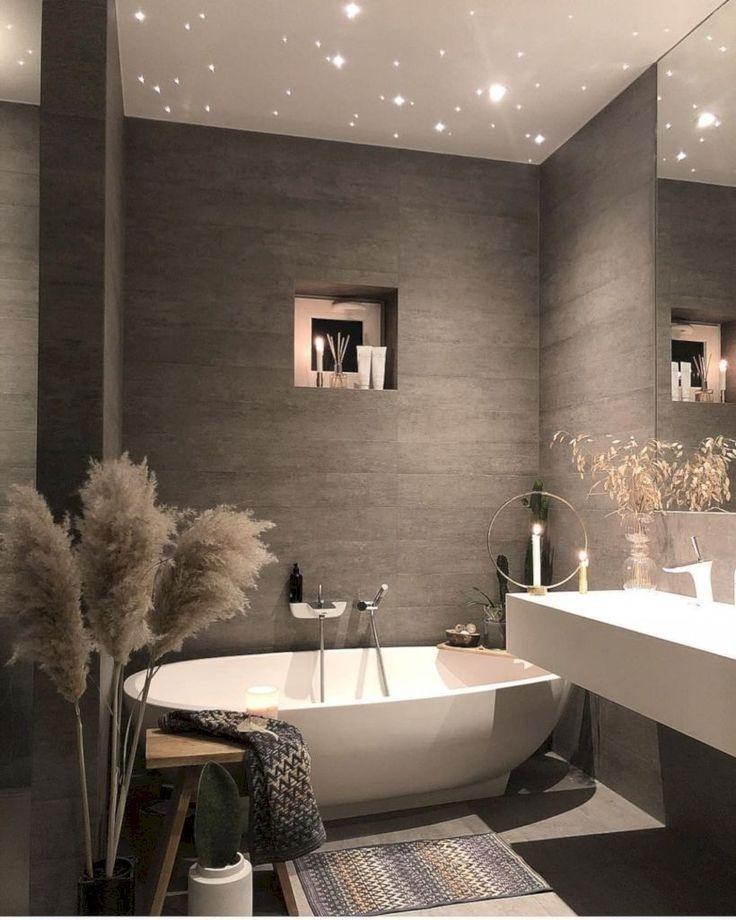 46 Ideen für die Badgestaltung mit modernem Bad