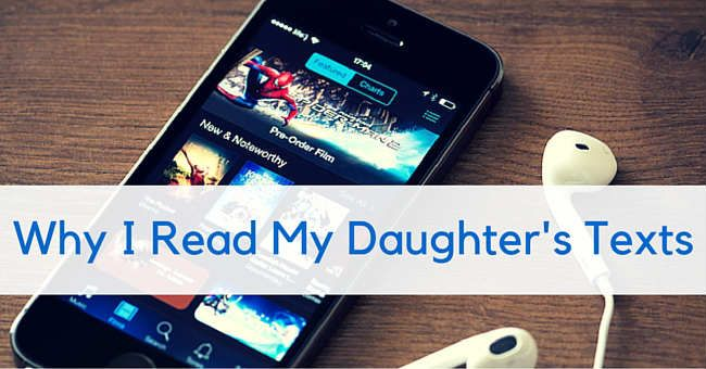 read my daughters text messages