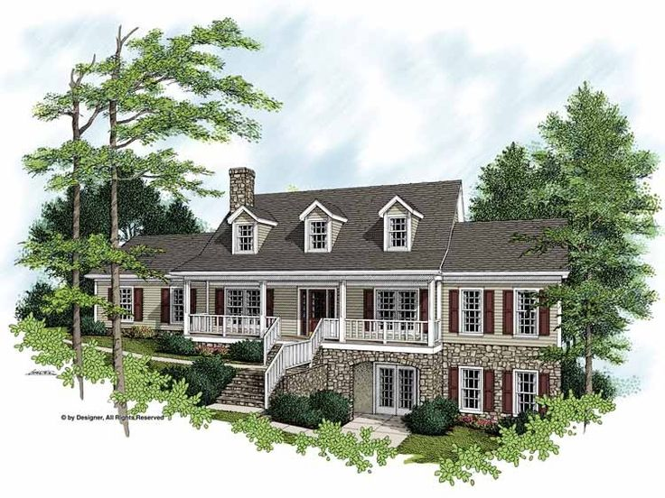 farmhouse house plan with 2356 square feet and 3 bedroomss from dream home