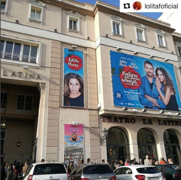 Recordad que nuestros #fugers @lolitafoficial y @luismottola están este fin de semana en el teatro #lalatinamadrid!! Un gran plan para disfrutar del arte en estado puro  #lefugu #elartequellevaspuesto #wanderlust #happiness #teatro #comedia #casual #wear #clothes #shop #Madrid #humor #Repost @lolitafoficial with @repostapp ・・・ Gracias de corazón #luismottola #pentacion#lolitaflores #teatro #lalatina #prefieroqueseamosamigos #pedritisimomorales #tamzintounsend #ricardocristobal#actor #actriz…