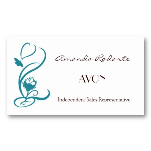 1000 images about Order Avon Business Cards on Pinterest