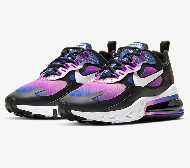 basket fille nike air max violette