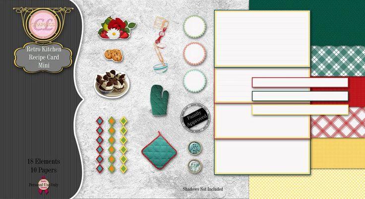 CLGraphics Retro Kitchen Mini Kit