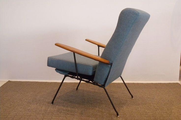 UTW 1950s armchair by Fred Lowen for FLER