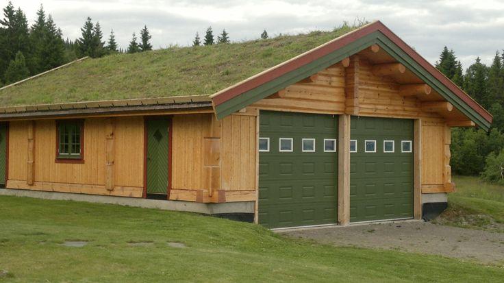 Наш гараж в Норвегии
