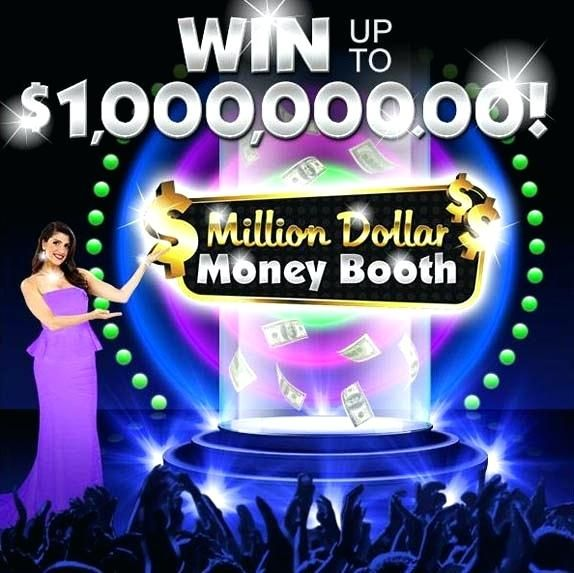 million dollar sweepstakes million dollar money booth game win up to