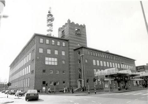 Breda.  Oude Vest.  PTT Postgebouw.  1989