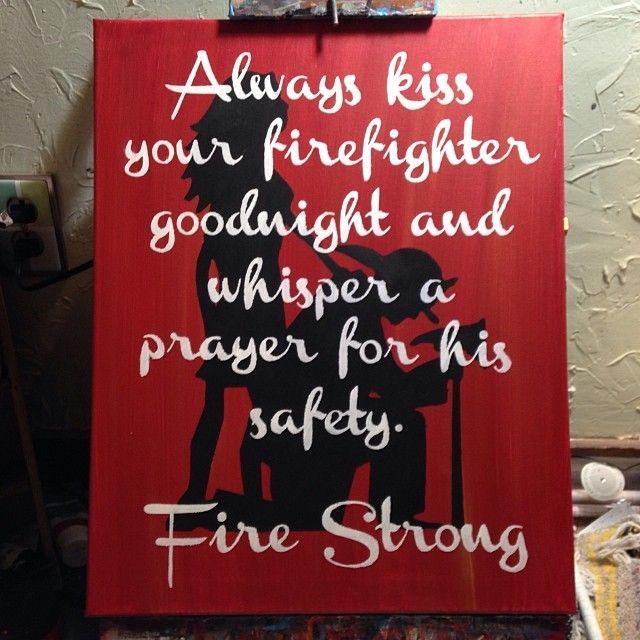Firefighter's wife - custom order