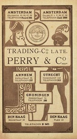 Perry (Warenhuis) St. Nicolaas folder 1919